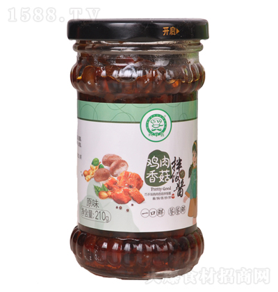 巧手翁 鸡肉香菇拌饭酱(原味)210g