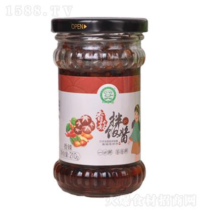 巧手翁 香菇拌饭酱(香辣)210g