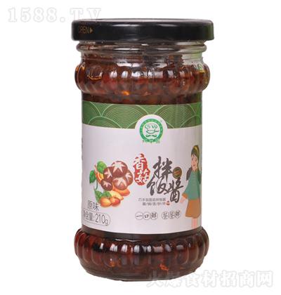 巧手翁 香菇拌饭酱(原味)210g