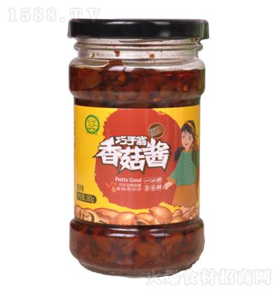 巧手翁 香菇酱(香辣)260g
