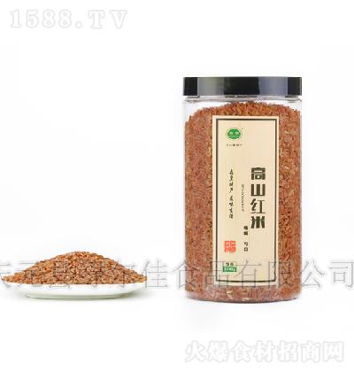 森皇 高山红米(瓶装) 800g
