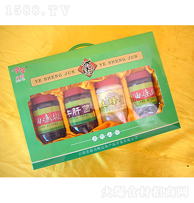 ��达 野生食用菌产品礼品盒装