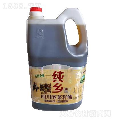 纯乡 四川醇菜籽油 5升