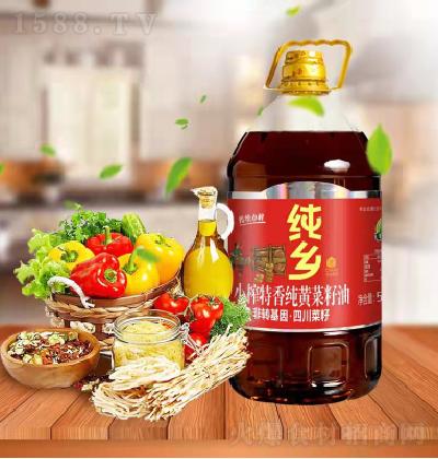 纯乡 小榨特香纯黄菜籽油