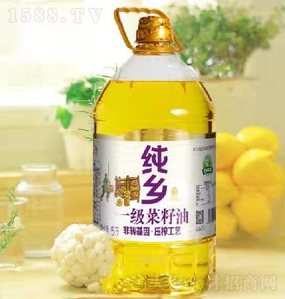 纯乡 一级菜籽油 5升
