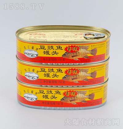 珠江桥香辣豆豉鱼罐头【150克】