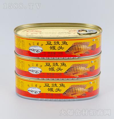 珠江桥豆豉鱼罐头【150克】