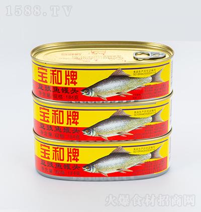 宝和牌豆豉鱼罐头【184克】
