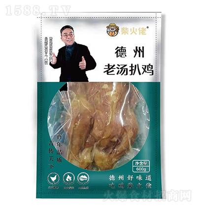 柴火佬德州老汤扒鸡【580克】