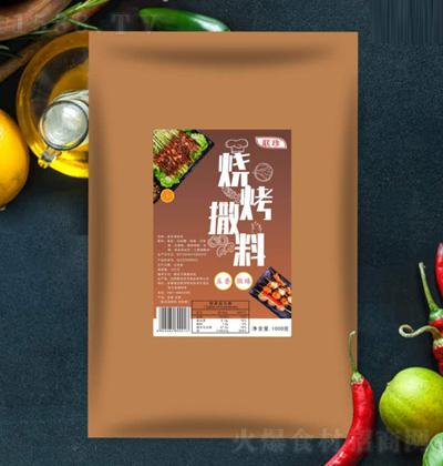 联珍烧烤撒料-五香味【1000克】
