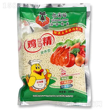 亿淘猫鸡味鲜精200克