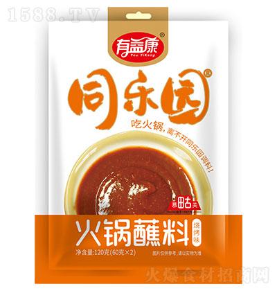 同乐园火锅蘸料(烧烤味)120克