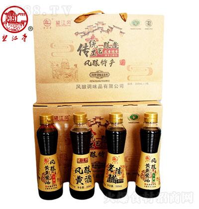 望江亭 风酿调味品系列 360mlx4瓶