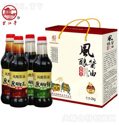 望江亭 原晒王风酿酱油 2kg