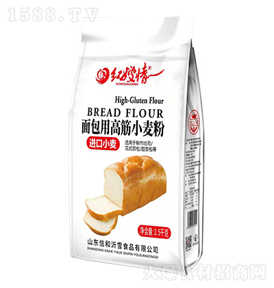 红嫂情 面包用高筋小麦粉 2.5千克