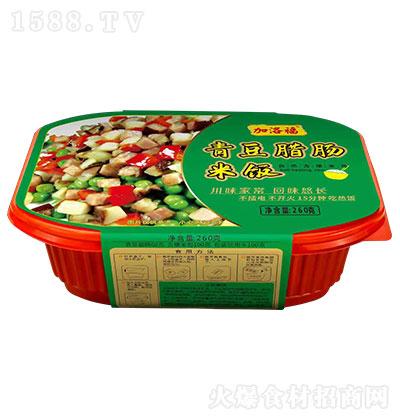 加洛福青豆腊肠米饭【260克】