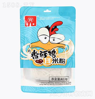 旺华派香菇鸡拌粉411g(袋装)