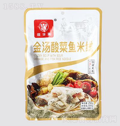 旺华派金汤酸菜鱼米线250g