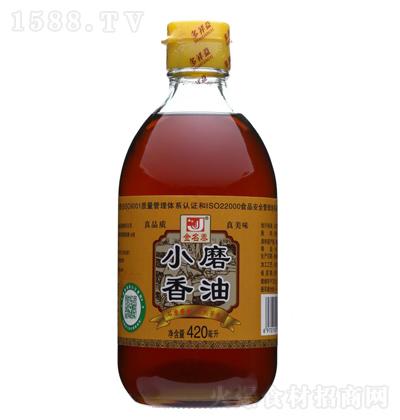 金名泰 小磨香油 420ml