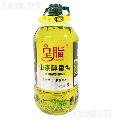 皇脂 山茶醇香型食用植物调和油 5LX4瓶每箱