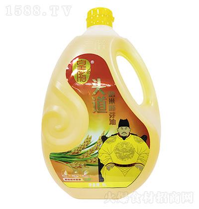 皇脂 头道稻米油 5LX4瓶每箱