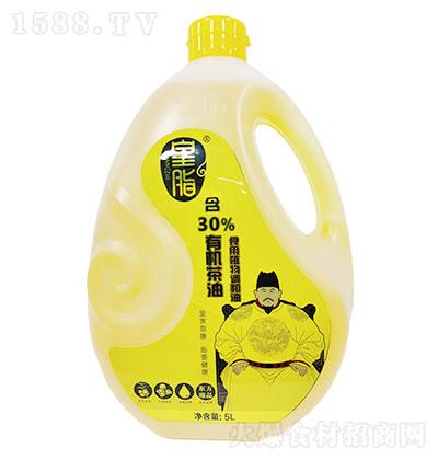 皇脂-添加有机茶油食用植物调和油 5LX4瓶每箱