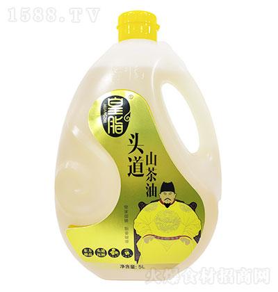 皇脂 头道山茶油 5LX4瓶每箱