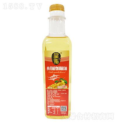 皇脂 食用植物调和油 500ml