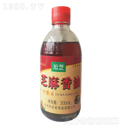 旭芝 芝麻香油 300ml