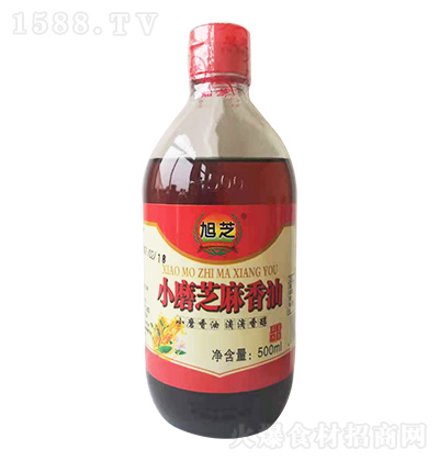 旭芝 小磨芝麻香油 500ml