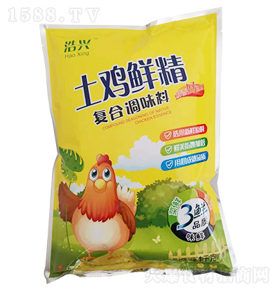 浩兴 土鸡鲜精 1千克