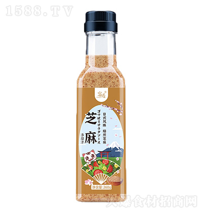 宴遇 芝麻 沙拉汁 日式风味 260g