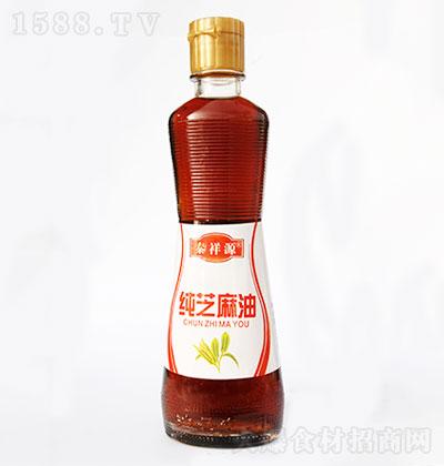 秦祥源 纯芝麻油 320ml