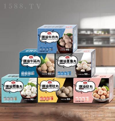 珠合 丸子系列产品 360克x6盒