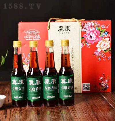 冀康 石磨香油 礼盒