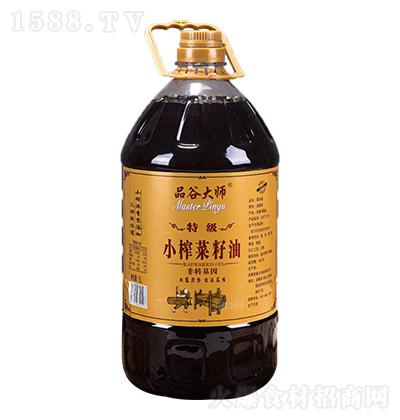 品谷大师 小榨菜籽油 特级 5L