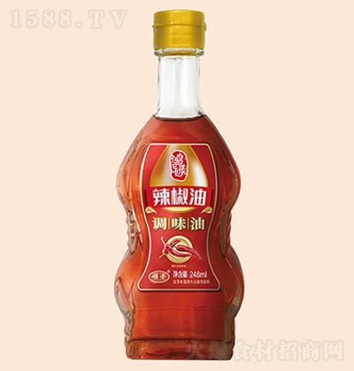 禄荣 辣椒油 248ml