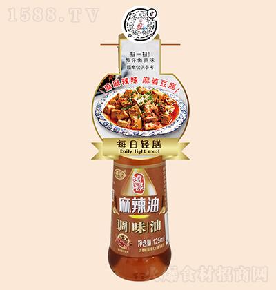 禄荣 麻辣油 125ml