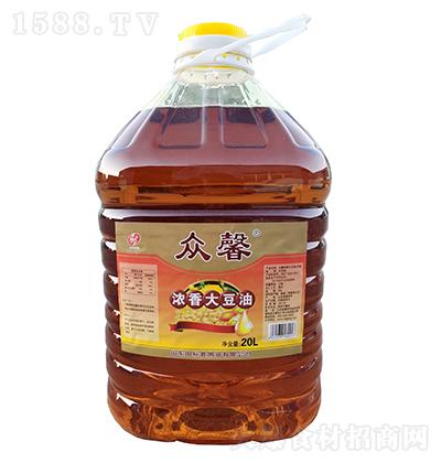 众馨 浓香大豆油 20L