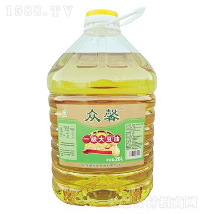 众馨 一级大豆油 20L