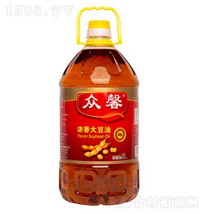 众馨 浓香大豆油5L