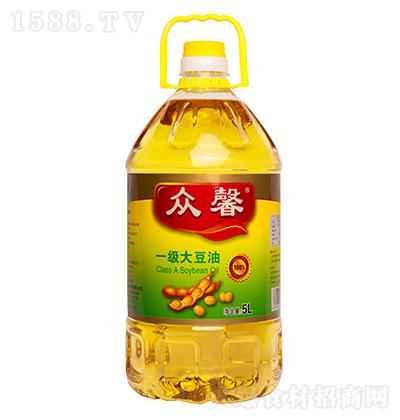 众馨 一级大豆油 5L