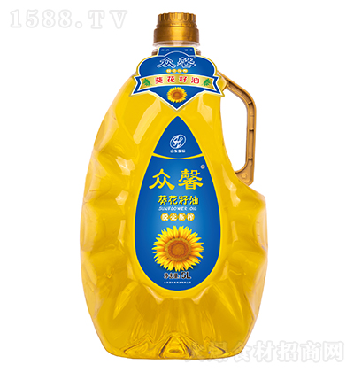 众馨 葵花籽油 5L