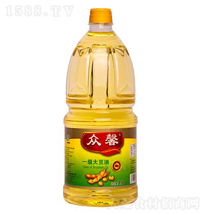 众馨 一级大豆油 1.8L