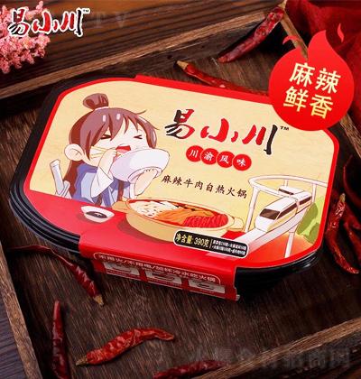 易小川 麻辣牛肉自热火锅 390克
