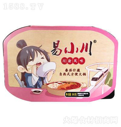 易小川 番茄什蔬自热式方便火锅 360克