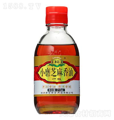 丰彩 小磨芝麻香油 210ml