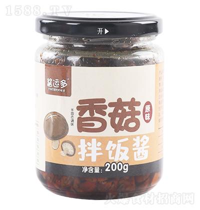 酱运多 香菇拌饭酱 原味 200g