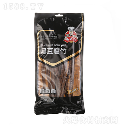 王老胖 黑豆腐竹 150克