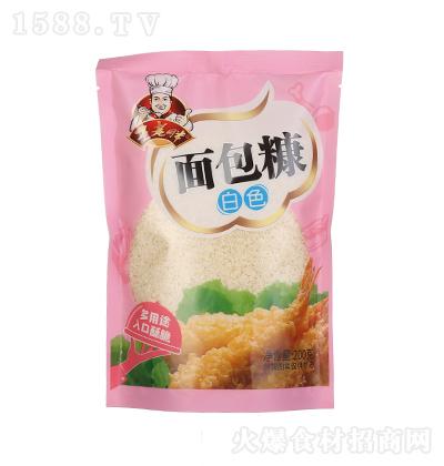 王老胖 白色面包糠 200克